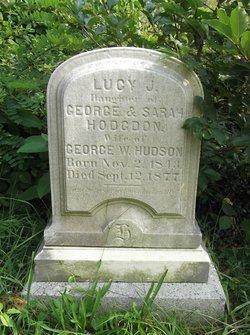 Lucy J. <I>Hodgdon</I> Hudson
