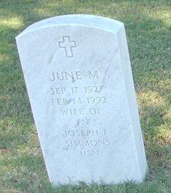 June M Simmons