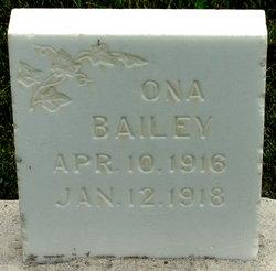 Mary Ona Bailey