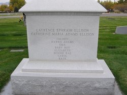Catherine Maria <I>Adams</I> Ellison