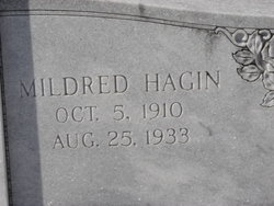 Mildred <I>Hagin</I> McCorkel