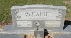 Lilla Gladys <I>Morgan</I> McDaniel