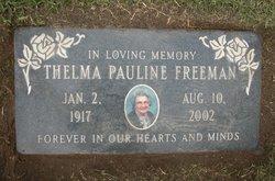 Thelma Pauline <I>Suddeth</I> Freeman