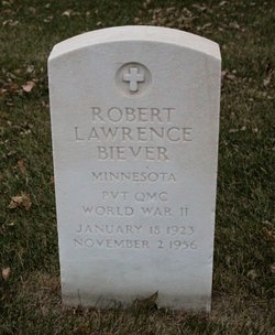Pvt Robert Lawrence Biever
