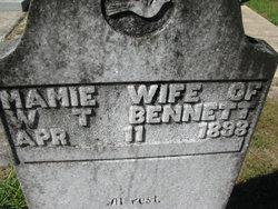 Mamie L. <I>Brantley</I> Bennett