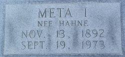 Meta Ida <I>Hahne</I> Althaus