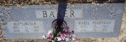 Mabel <I>Perryman</I> Baker