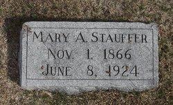 Mary Ann <I>Sides</I> Stauffer
