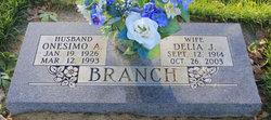 Delia Jaunita <I>Trujillo</I> Branch