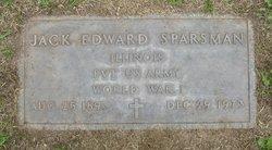 Jacob Edward Sparsman