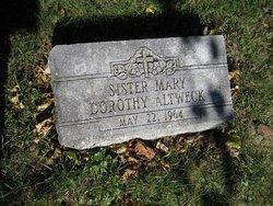 Sr Mary Dorothy Altweck
