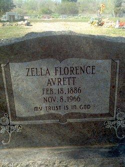Zella Florence <I>Langston</I> Avrett