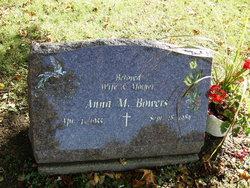 Anna M. <I>Van Bourgondien</I> Bowers