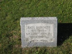 Hazel <I>Newsted</I> Barringer