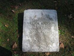 William Madison Albertson