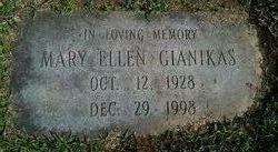 Mrs Mary Ellen <I>Captain</I> Gianikas