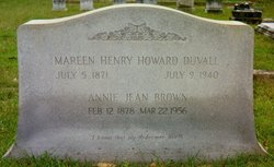 Mareen Henry Howard Duvall