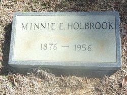 Minnie L <I>Elder</I> Holbrook