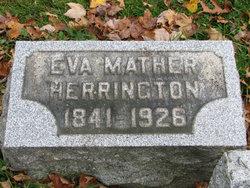Eva Minerva <I>Mather</I> Herrington