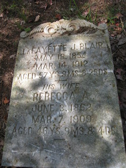 Lafayette J Blair