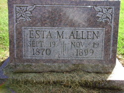 Esta M Allen