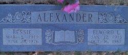 Bessie <I>Coleman</I> Alexander
