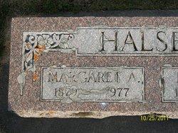 """Margaret Ann """"Maggie"""" <I>Carroll</I> Halsey"""