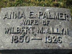 Ann E <I>Palmer</I> Allyn
