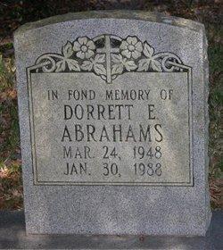 Dorrett E Abrahams