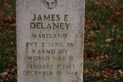 Pvt James E Delaney