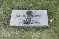 Pvt William H Harmon
