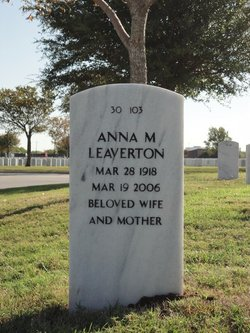 Anna M Leaverton