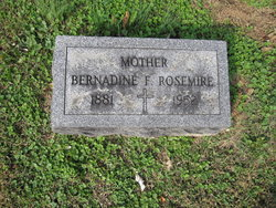Bernadine F. Rosemire