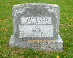 Bessie May <I>Bump</I> Loveland