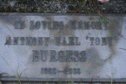 """Anthony Earl """"Tony"""" Burgess"""