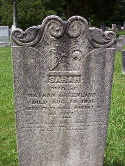 Sarah Ruth <I>Corbin</I> Greenland