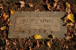 Bette Lee <I>Goodwin</I> Spivey