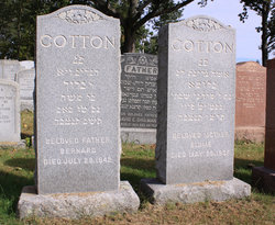 """Blume """"Bessie"""" <I>Gordon</I> Cotton"""