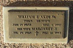 Margaret J Akin