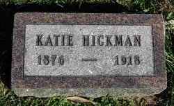 """Susan Catherine """"Katie"""" Hickman"""