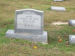 Georgia Lee <I>Biter</I> Williams