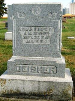 Sarah Elizabeth <I>Riddle</I> Deisher