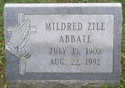 Mildred <I>Zile</I> Abbate