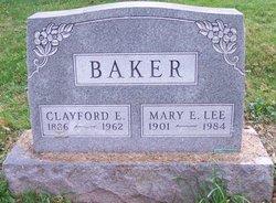 Mary E. <I>Lee</I> Baker