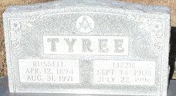 Lizzie Elizabeth <I>Redden</I> Tyree