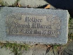 "Johannah M. ""Hannah"" <I>Anderson</I> Barrett"