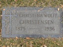 Christena <I>Wolff</I> Christensen