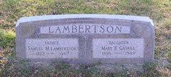 Mary Elizabeth <I>Lambertson</I> Gaskill