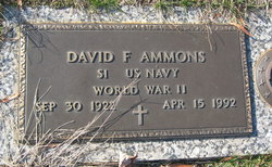 David Fred Ammons