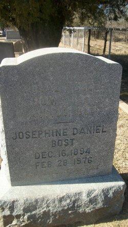 "Josephine ""Josie"" <I>Daniel</I> Bost"